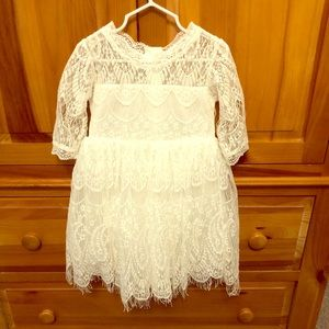 Trish Scully Toddler Lace Dress